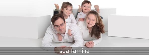 sua família